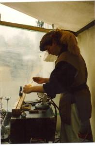 Vorführung der Glasgestaltung in Berlin von Normann Denkel