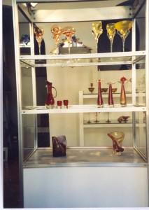 Verkaufsraum der Glaswerk Wilmersdorf