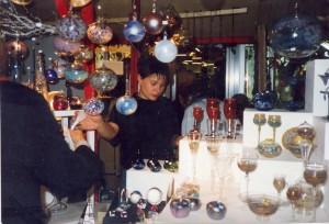Glaskunst zu Weihnachten in Berlin 1988