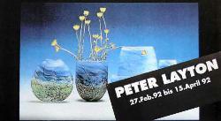 Peter Layton Ausstellung in der Galerie Glaswerk