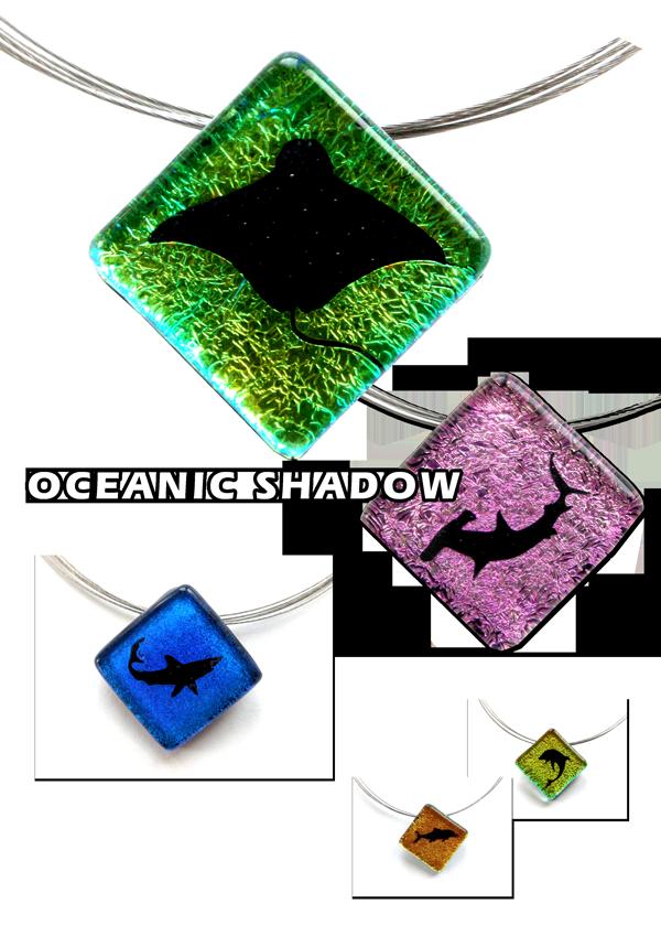 Oceanic Shadow Glasschmuck Serie