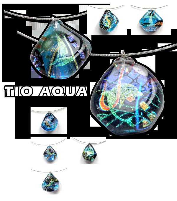 Schmuckserie Tio Aqua