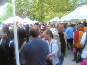 Pfingstsonntag auf dem Kunstmarkt Herten